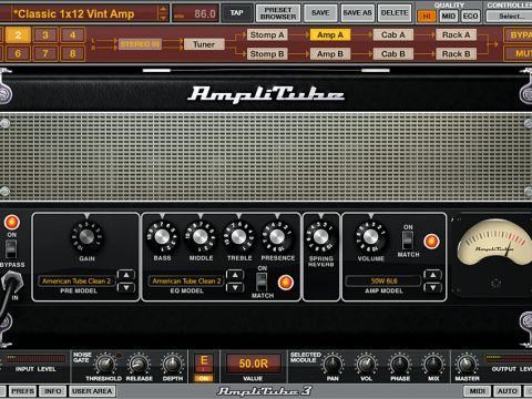 AmpliTube 3 adds models from the Metal and Hendrix editions of the software.