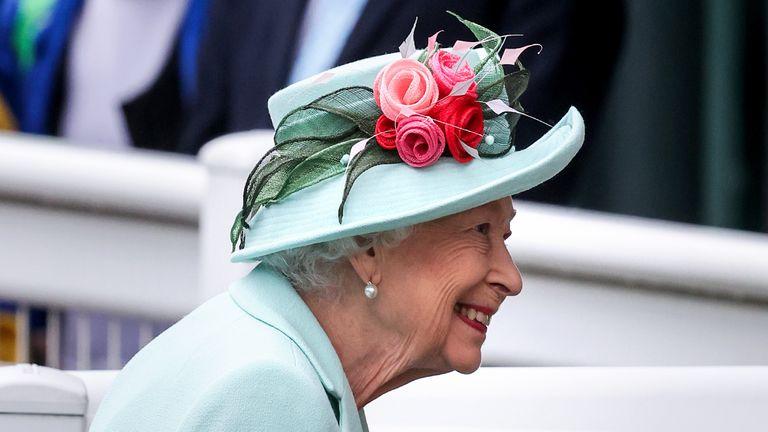 Queen at Royal Ascot 2021