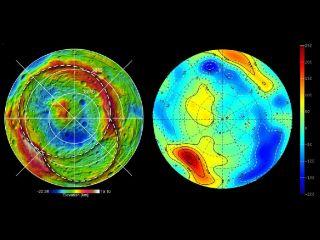 Vesta Topography