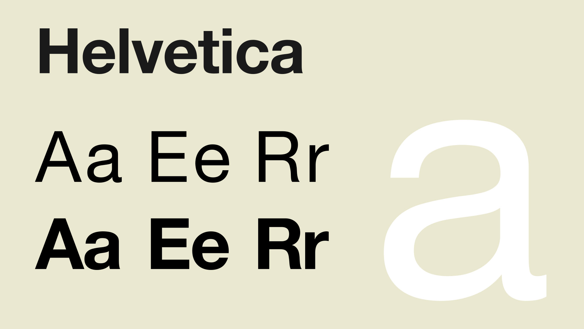 10 inspired alternatives to Helvetica | Creative Bloq
