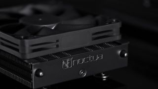 Noctua's All-Black NH-L9a-AM4 Chromax.Black Is Possibly the Sleekest SFF AM4 Cooler