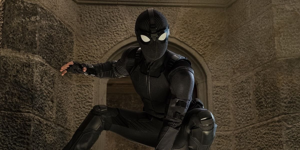 Spider-Man in Stealth Suit in Spider-Man: Far From Home