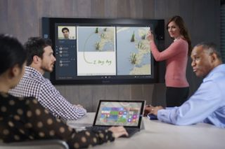 Microsoft Surface Hub Begins Shipping to Businesses