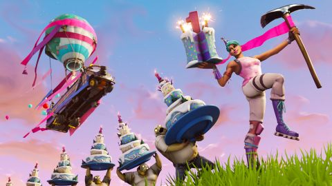 Fortnite celebrates its first anniversary with a limited-time Birthday event