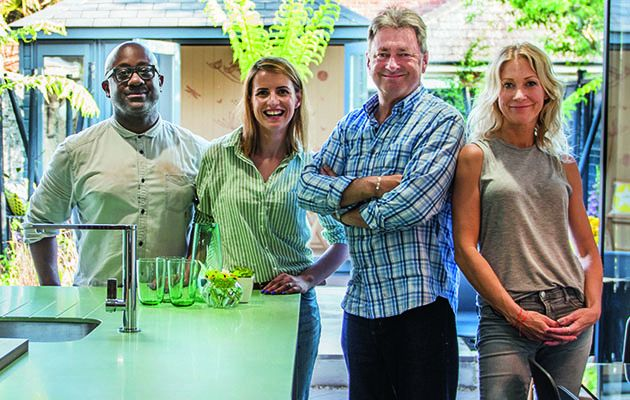 Having transformed gardens all over the country, Alan Titchmarsh now adds interior design to his CV.