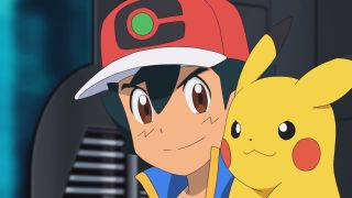 Ash and Pikachu in Pokemon Journeys