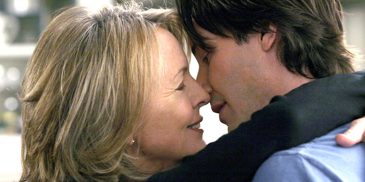 Diane Keaton and Keanu Reeves in Something's Gotta Give