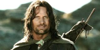 Viggo Mortensen as Aragorn in Peter Jackson's The Lord of The Rings