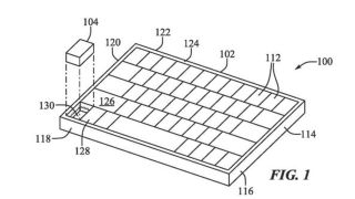 Apple's patent of a detachable mouse built into the keyboard.