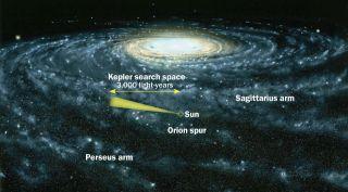 Kepler's Search View
