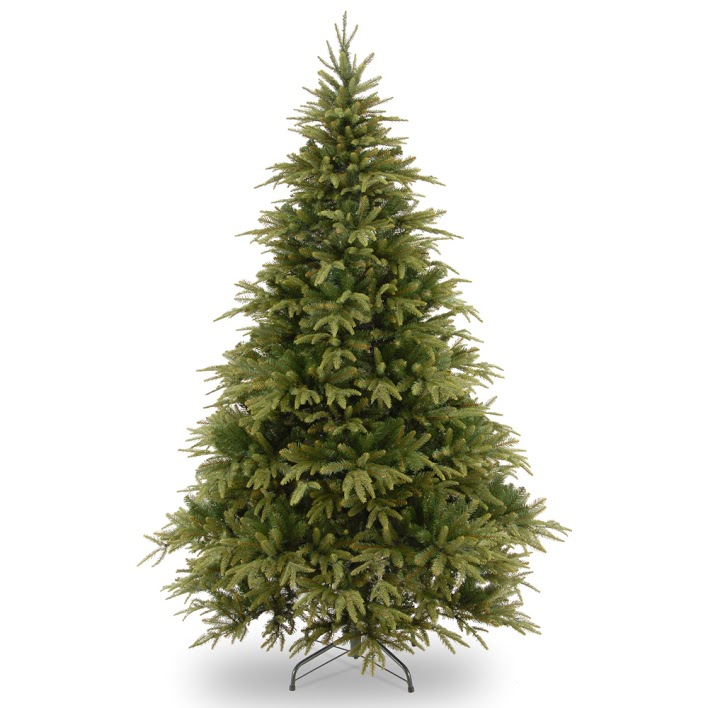 best artificial Christmas trees: Hayes Garden World Real-Feel Spruce