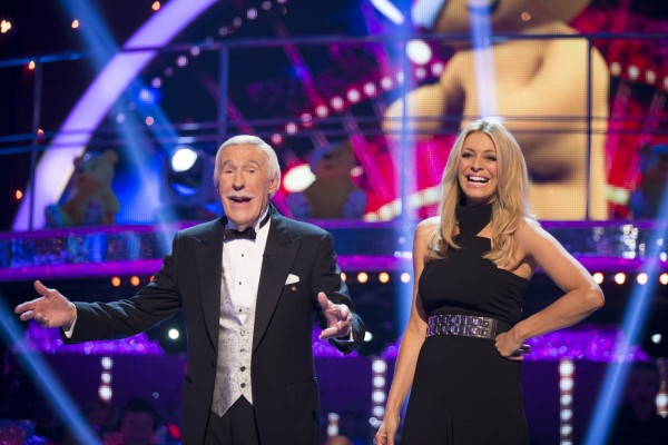 Sir Bruce Forsyth reunites with Tess Daly