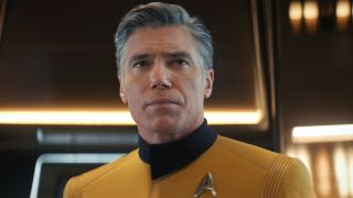 Anson Mount as Christopher Pike in Star Trek: Discovery