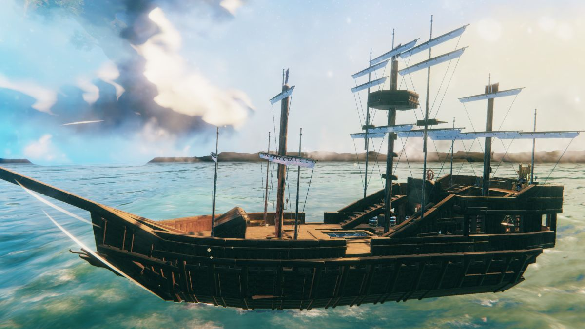 Design your own massive Valheim ships with this mod