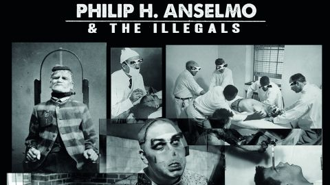 over art for Philip H. Anselmo & The Illegals - Choosing Mental Illness As A... album
