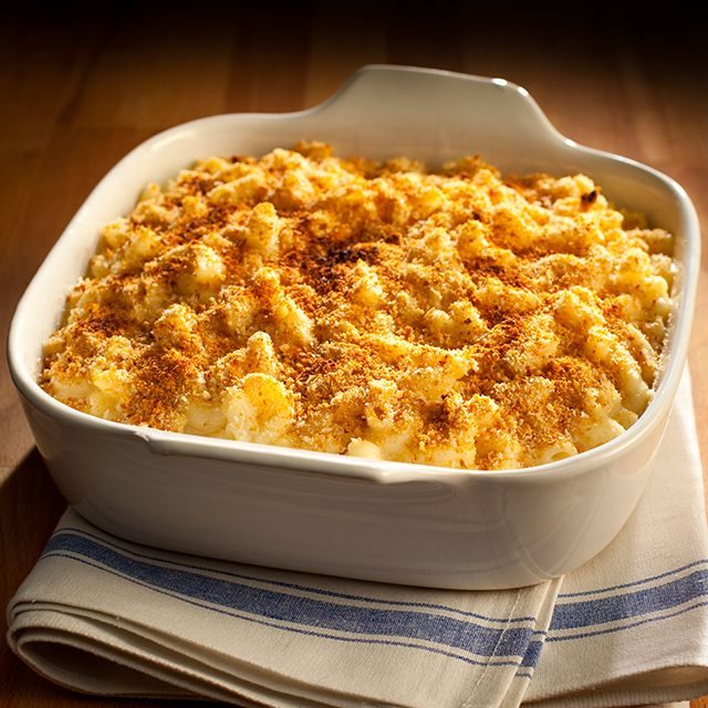 crispy macaroni cheese