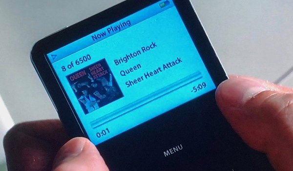 Brighton Rock by Queen on Baby's iPod