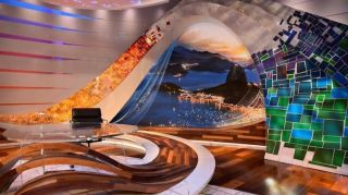 NBC's Rio Olympics Studio Featured Leyard LED Video Walls