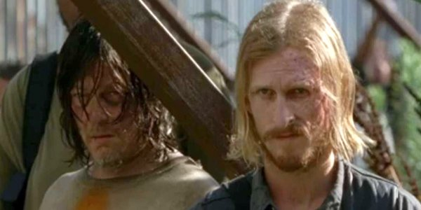 The Walking Dead Daryl and Dwight at the Sanctuary AMC
