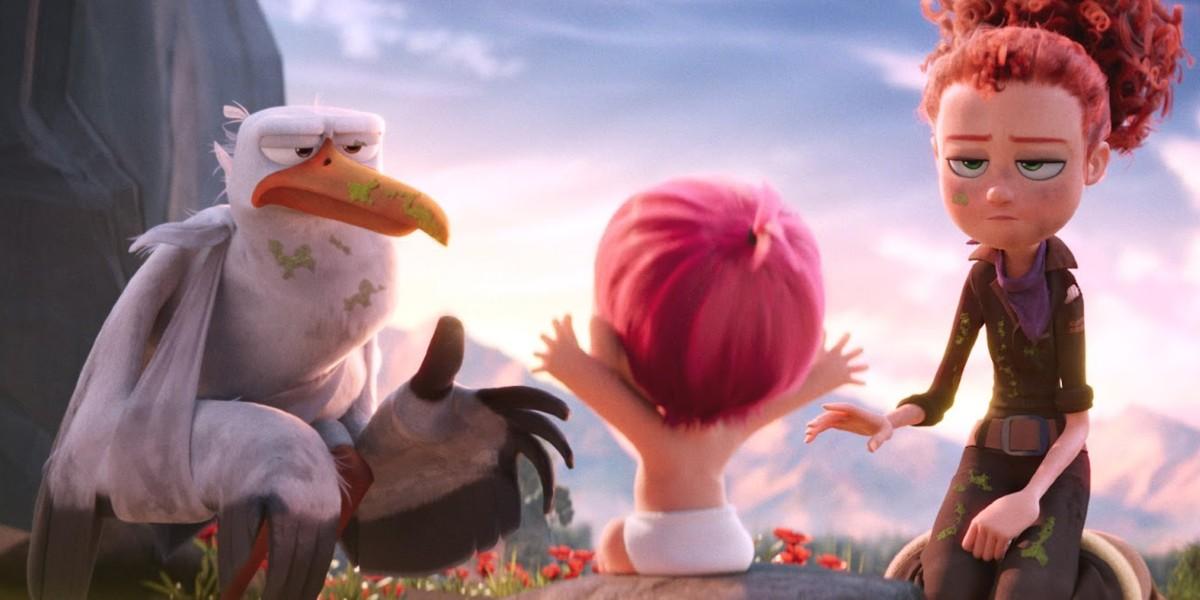 Screenshot from Storks
