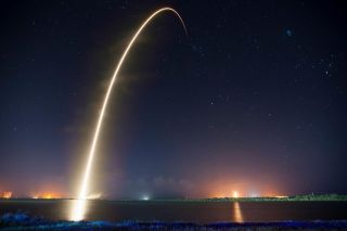 SpaceX Night Launch
