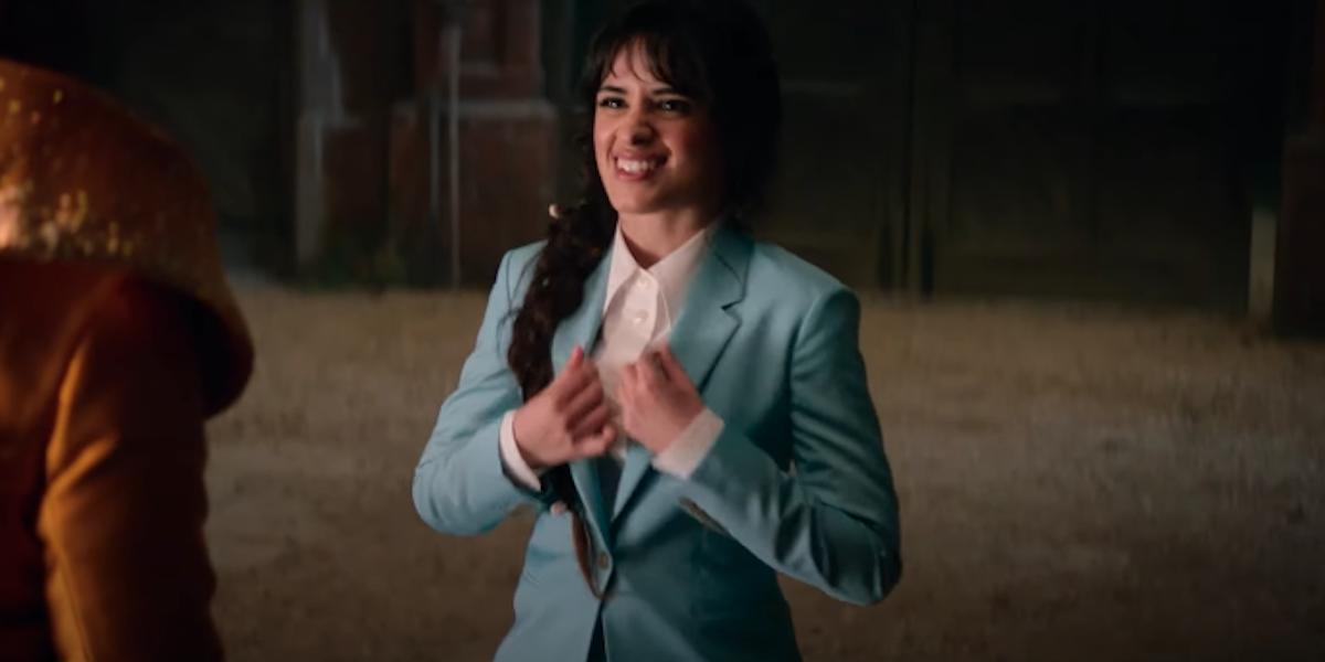 Camila Cabello as Cinderella in pantsuit