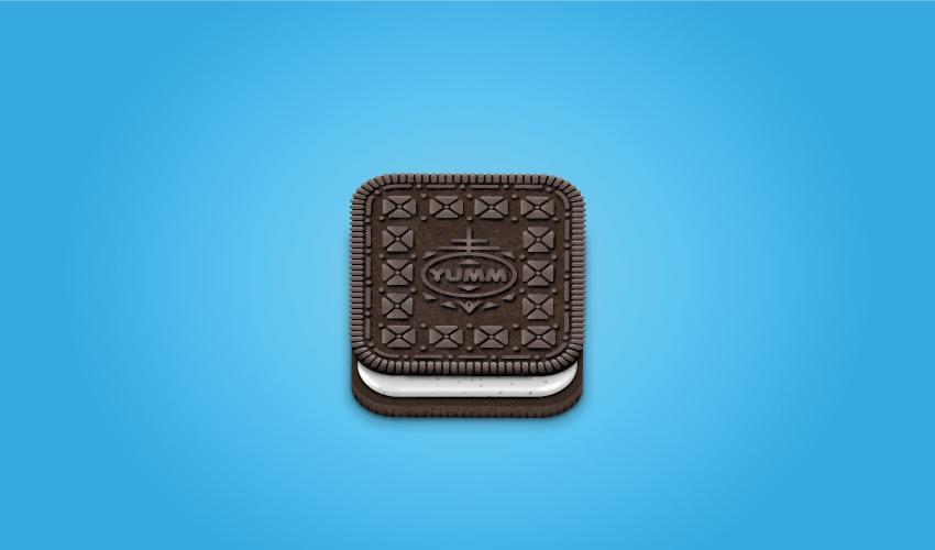 Cartoon of Oreo cookie