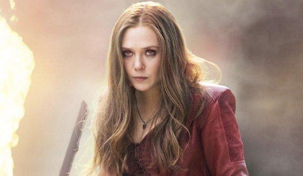Elizabeth Olsen as Scarlet Witch in Avengers: Endgame