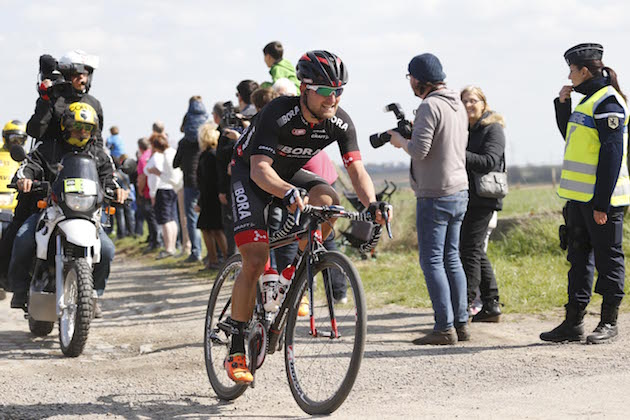 Thumbnail Credit (cyclingweekly.com) (Photo: Yuzuru Sunada): Ralf Matzka in action at the 2015 Paris-Roubaix Credit: Yuzuru Sunada