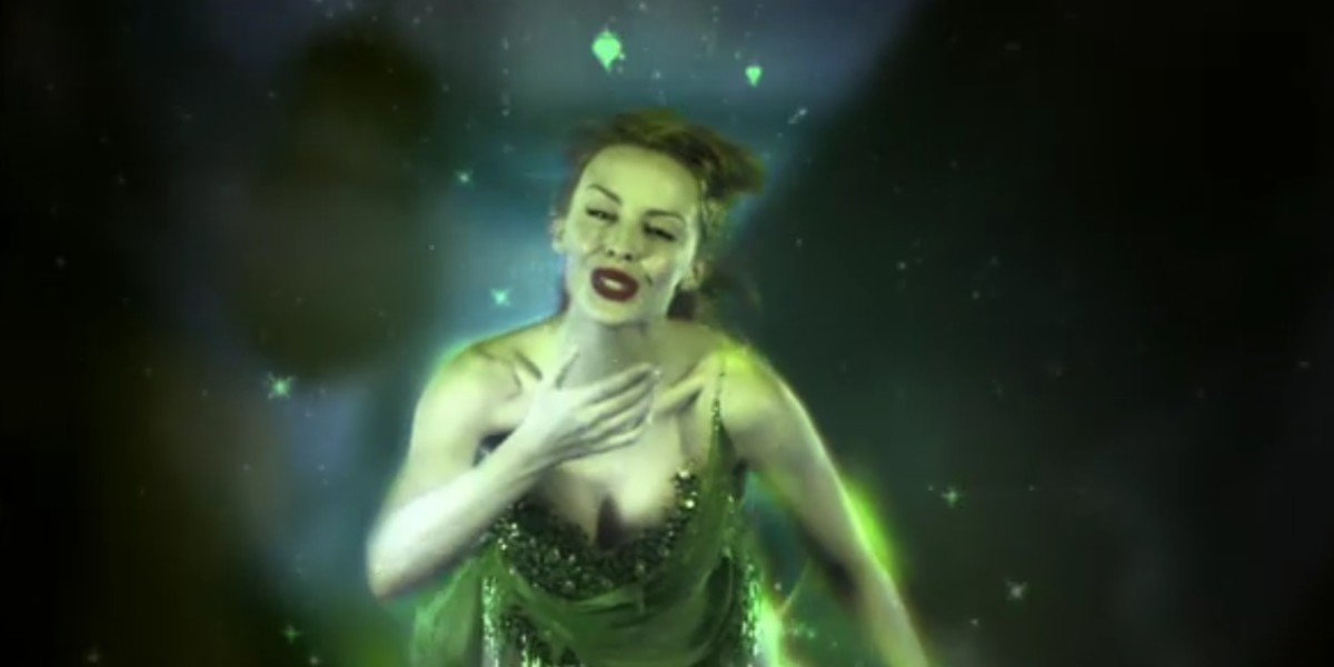 Kylie Minogue in Moulin Rouge