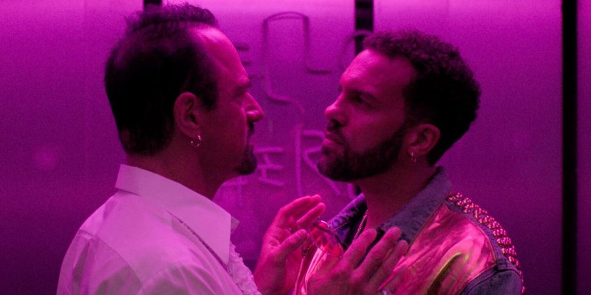 Christopher Meloni and O-T Fagbenle on Maxxx