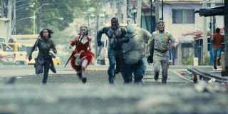Ratcatcher 2 Harley Quinn Bloodsport King Shark and Polka-Dot Man in The Suicide Squad