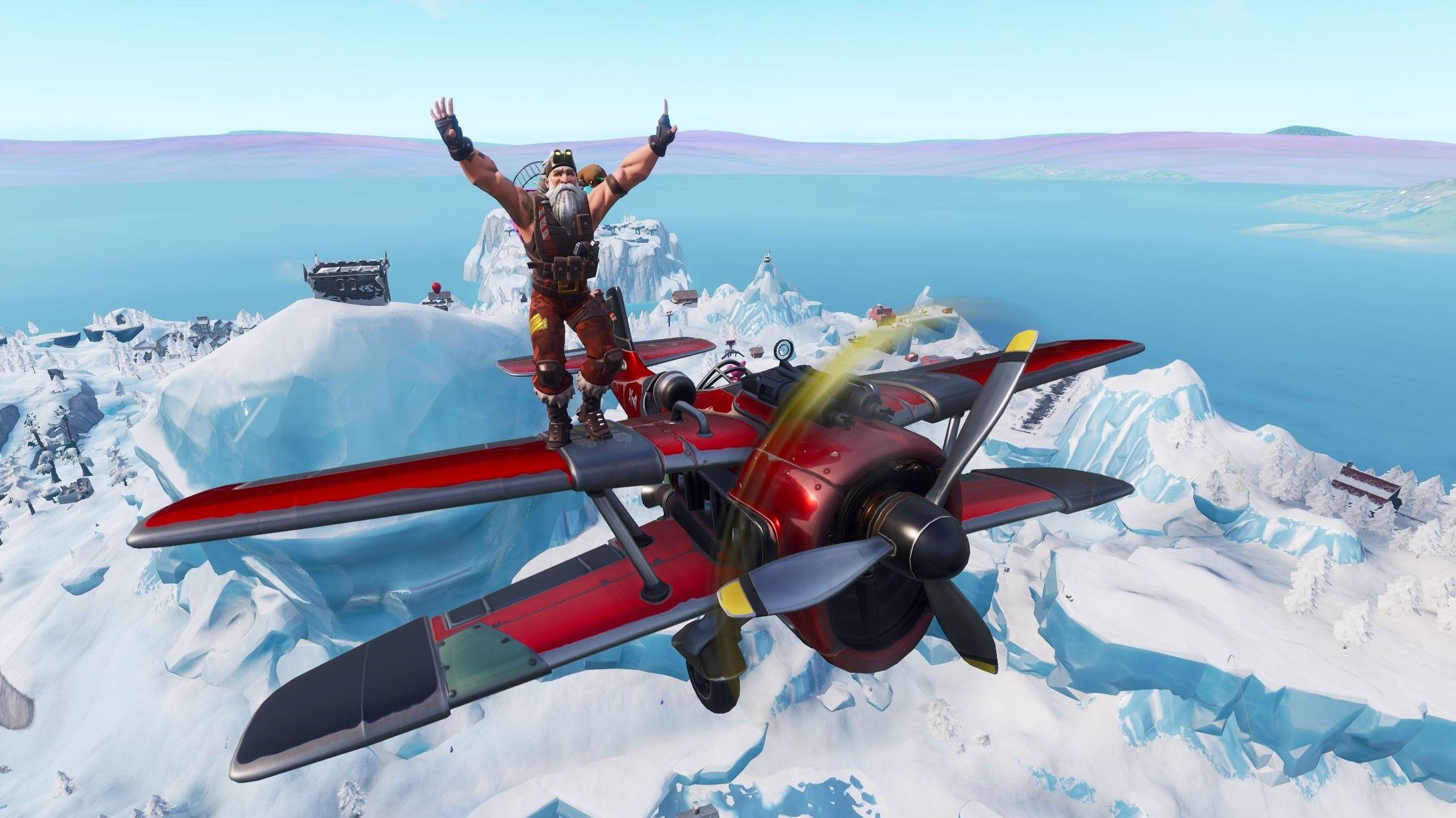 Fortnite timed trials in an x4 stormwing