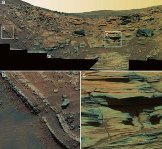 Rover Finds Evidence for Volcanic Burst on Mars