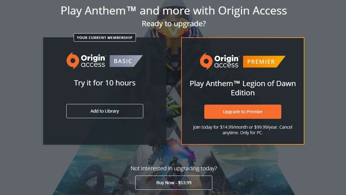 EA's style of 'early access' sucks | PC Gamer