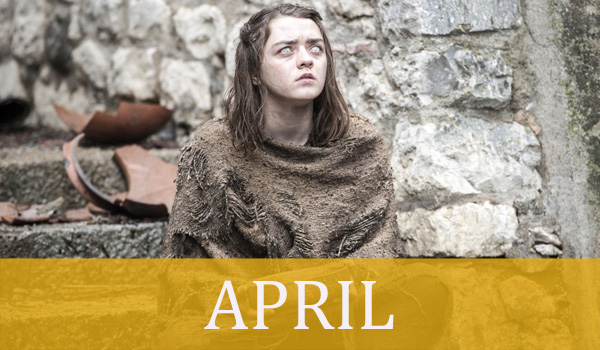 APRIL game of thrones