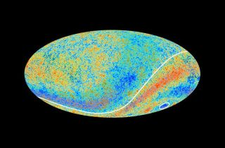 Planck Map of Cosmic Microwave Background Radiation