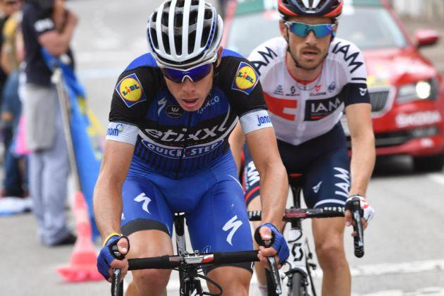 David de la Cruz Nairo Quintana loses Vuelta a Espaa lead as David de la Cruz wins
