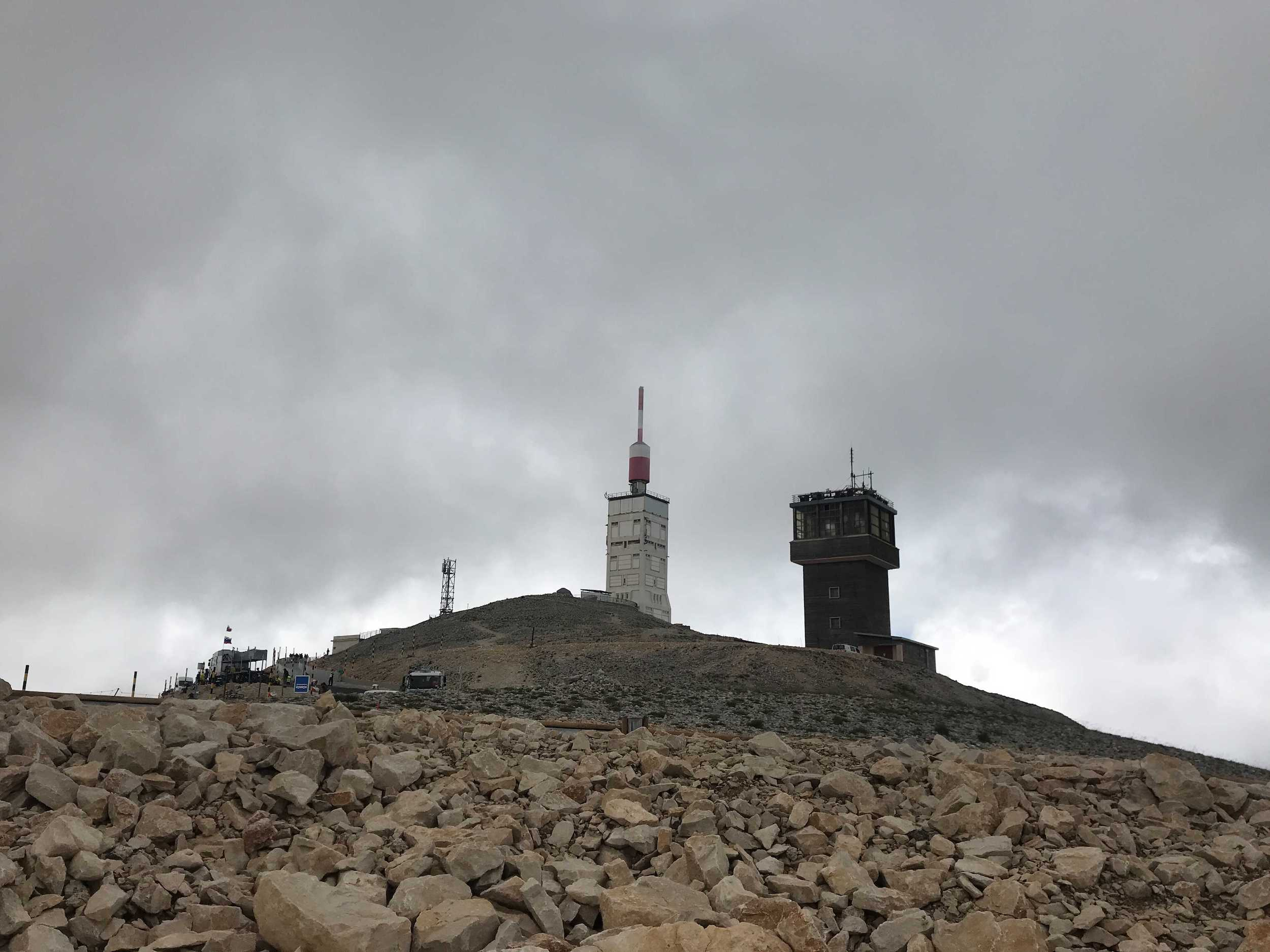 View of Mont Ventoux today