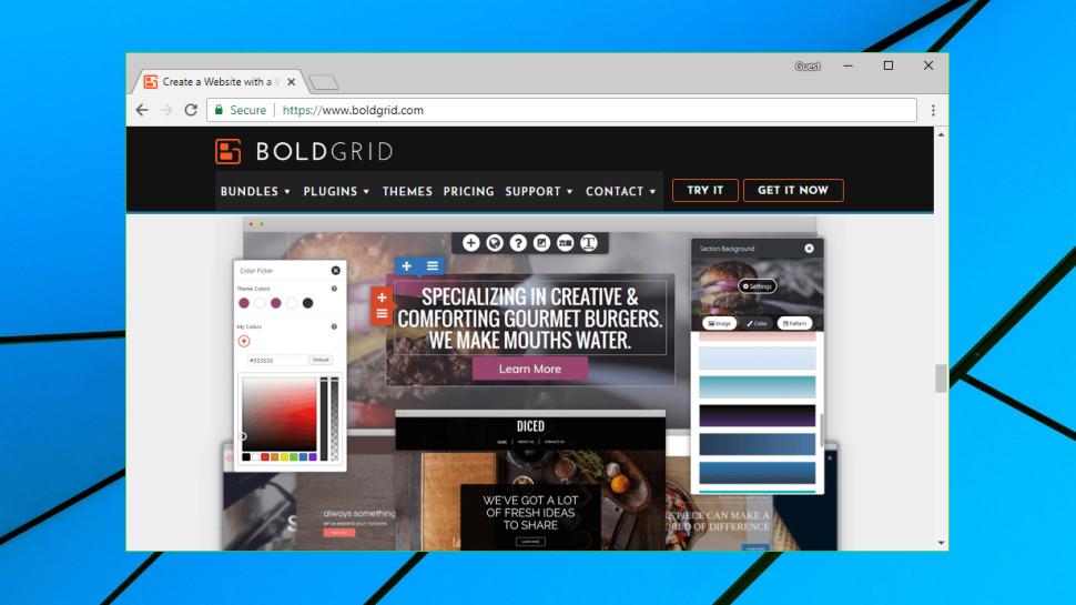 BoldGrid website builder review | TechRadar