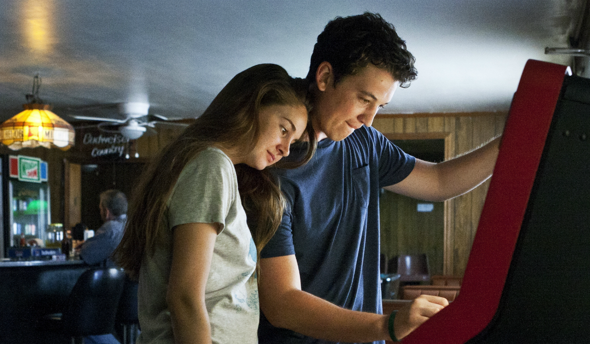 The Spectacular Now Miles Teller Sutter Keely Shailene Woodley Woodley Aimee Finecky