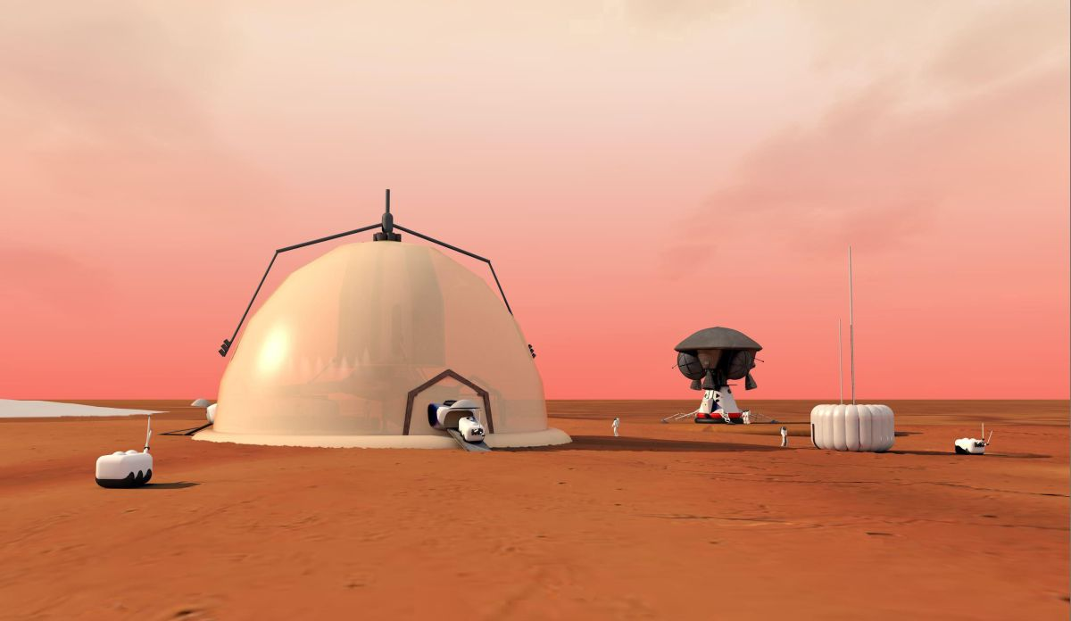 Mars Explorers Could Live in 'Igloo' Near Red Planet's North Pole