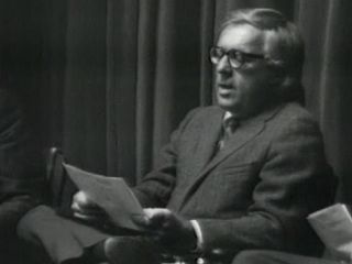 "Ray Bradbury reading his poem ""If Only We Had Taller Been"" in 1971."