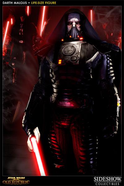 Prove Your Star Wars: The Old Republic Fandom With Life-Size Darth Malgus Statue #21382