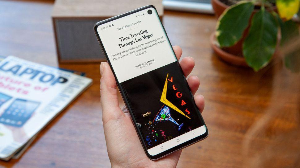 Best waterproof phone: Samsung Galaxy S10