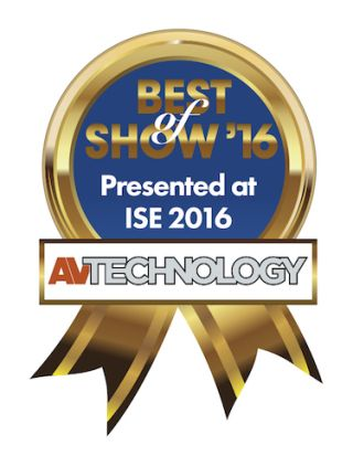 DVIGear's DisplayNet Wins Best of Show Award at ISE 2016