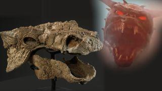 Ankylosaur and Zuul