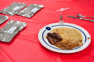 NASA All-American Meal for astronauts