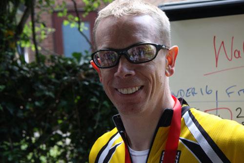Winner Hal Bransby, Waller Pain hillclimb 2010