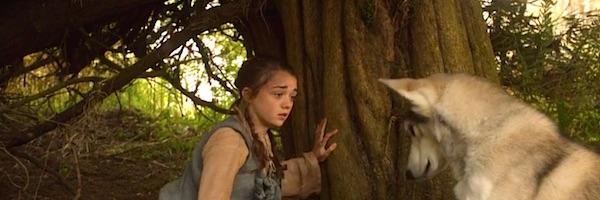 Arya sending Nymeria away